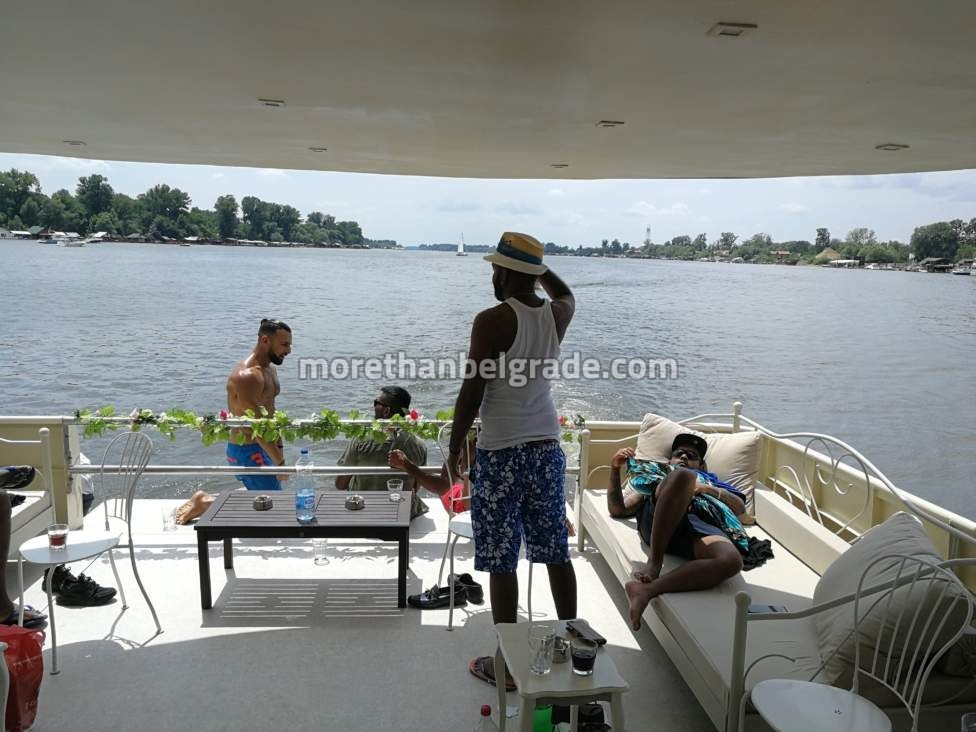 Stag boat party with boat rental in Belgrade