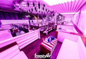 Freestyler night club Belgrade