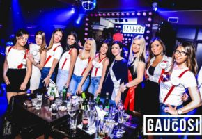 Gauchosi night club in Belgrade
