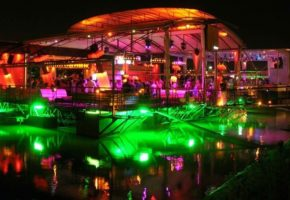 Splavs popular floating night clubs in Belgrade