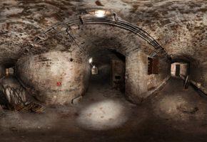 Nazi tunnels beneath Tasmajdan