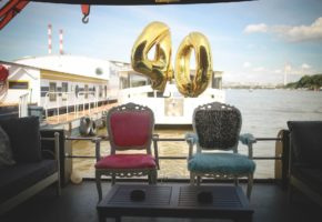 Birthday surprise party on a boat cruising in Belgrade