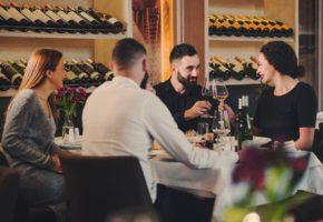 Fine dinning in Belgrade