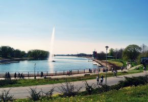 Ada Ciganlija Lake Belgrade