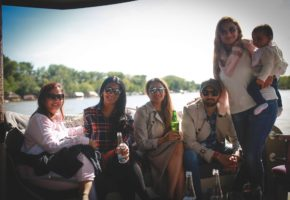 Birthday Party on a private boat in Belgrade