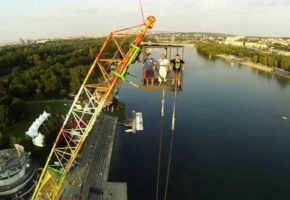 Bungee Jumping Ada Lake