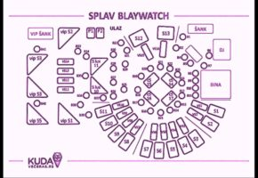 Blaywatch Water Club - Table Map