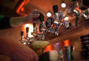 Draught beer bar