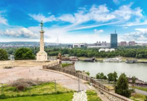 KALEMEGDAN VIEWPOINT BELGRADE