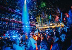 Night club scene in Belgrade