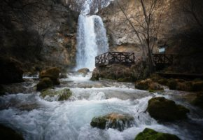 Lisine Waterfall Serbia