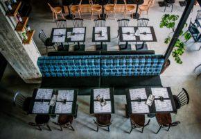 Magaza restaurant Beton hala Belgrade Interior