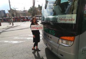 More Than Belgrade coach bus