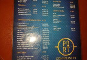 Night Club – Port by Community - Pricelist