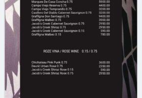 Pub Eleven - Pricelist
