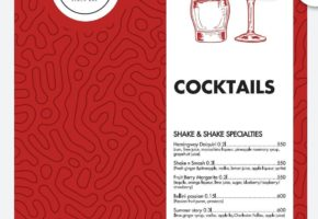 Night Club – Shake ' n ' Shake - Pricelist