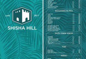 Shisha Hill - Pricelist