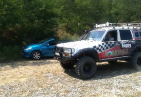 SUV Off road Tour in Belgrade