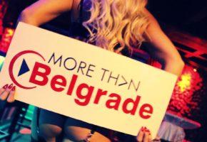 Striper girl in Belgrade bars