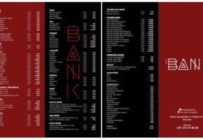 The Bank Night Club - Pricelist