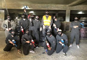 Bachelor holiday paintball Belgrade