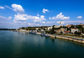 Belgrade river bank