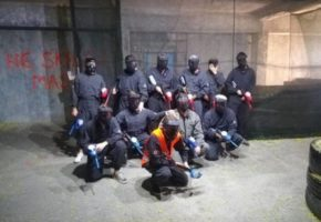 Paintball in Belgrade bachelor party