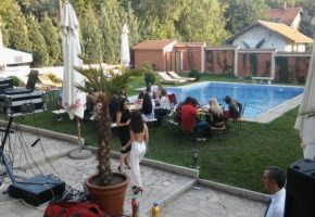 Private villa party Belgrade