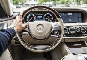 Steering wheel Mercedes Benz