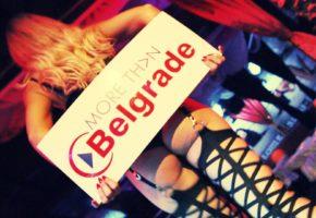 Stripper girl in Belgrade bars