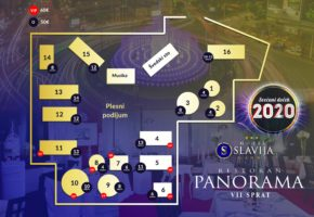 Rooftop Restaurant Panorama - Restaurant Panorama NYE table booking map