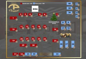 Hotel Orašac - hotel orasac new years eve 2020 floor plan