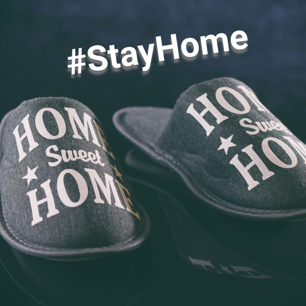 Home slippers stay home