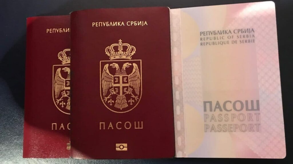 serbian-passport-red