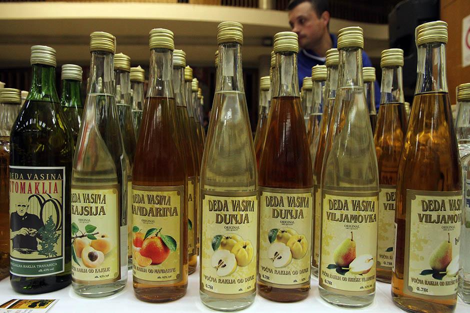 rakija-bottles